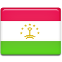 Country, Tajikistan, flag LimeGreen icon