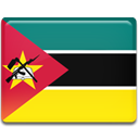 Country, flag, Mozambique Gold icon