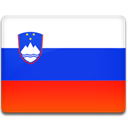 flag, slovenia, Country OrangeRed icon