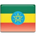 Ethiopia, Country, flag SeaGreen icon