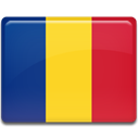 flag, Country, romania Gold icon