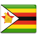 Country, flag, Zimbabwe Gold icon