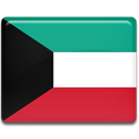 Country, Kuwait, flag Crimson icon