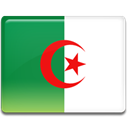 flag, Country, Algeria SeaGreen icon