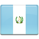Country, Guatemala, flag SkyBlue icon
