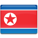 flag, Country, north, Korea Crimson icon