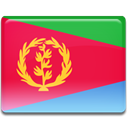 Country, flag, Eritrea Crimson icon