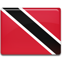 Country, flag, trinidad, tobago, trinidad and tobago, And Crimson icon