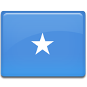 Country, flag, Somalia CornflowerBlue icon