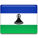 flag, Lesotho, Country DarkSlateBlue icon