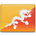 Country, Bhutan, flag SandyBrown icon
