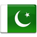 flag, Pakistan, Country ForestGreen icon