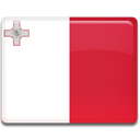 flag, Malta, Country Crimson icon