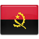 Angola, Country, flag Crimson icon