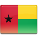 Bissau, guinea, Country, flag Crimson icon