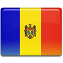 Country, moldova, Czech, flag Gold icon