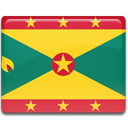 Country, Grenada, flag Gold icon