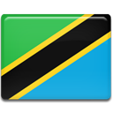 Country, Tanzania, flag DodgerBlue icon
