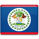 flag, Belize, Country Teal icon