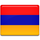 Country, flag, Armenia Orange icon