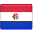 Paraguay, flag, Country Crimson icon
