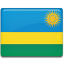 flag, Rwanda, Country DodgerBlue icon