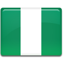 Country, flag, Nigeria SeaGreen icon
