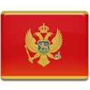 Montenegro, Country, flag Firebrick icon
