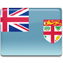 flag, Country, Fiji CadetBlue icon