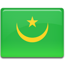Country, flag, Mauritania LimeGreen icon