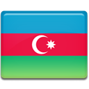 Azerbaijan, Country, flag Crimson icon
