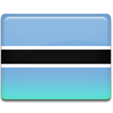 Country, Botswana, flag SkyBlue icon