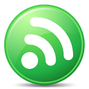 Rss, subscribe, green, feed LimeGreen icon