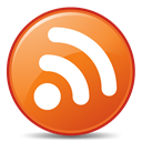 Rss, subscribe, feed, Orange Chocolate icon