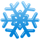 Flake, Snow DodgerBlue icon