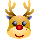 deer Black icon