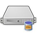 Database, db, otrs, Server Black icon