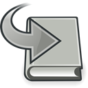 Course, alternative, grey, switch Silver icon