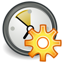 time, Maintenance, history Black icon
