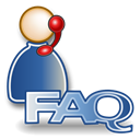Faq, profile, people, Account, Human, helpdesk, user Black icon