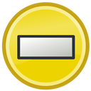 Not, Available, temporarily Gold icon