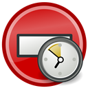 Available, Not, alternative, temporarily IndianRed icon