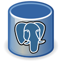 db, postgres, Database SteelBlue icon