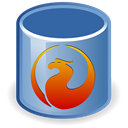 Database, db, firebird SteelBlue icon