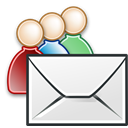 send, Email, Letter, envelop, mail, Message, group WhiteSmoke icon