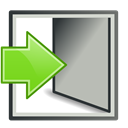 login, In, Log Silver icon