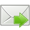send, Letter, mail, Email, envelop, Message Gainsboro icon