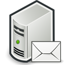 Email, envelop, Letter, Message, Computer, mail Black icon