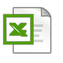 Excel Black icon