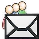 send, mail, Message, alternative, envelop, Email, Letter, group WhiteSmoke icon